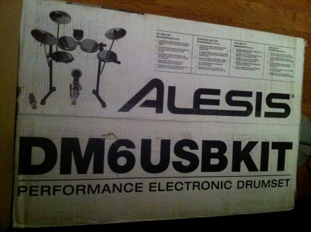 drumset in box
