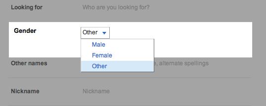 Google Profile online registration form