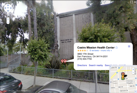 Castro-Mission Health Center, home of Dimensions Clinic