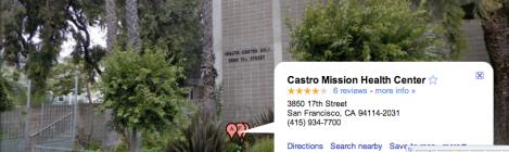 Castro-Mission Health Center, home of Dimensions Clinic
