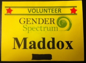 Gender Spectrum Conference Badge