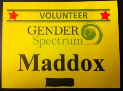 Gender Spectrum Conference Badge