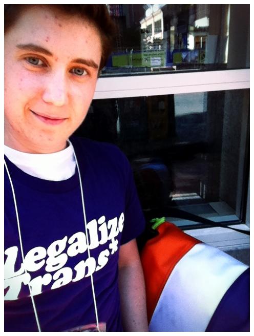 Legalize Trans* shirt