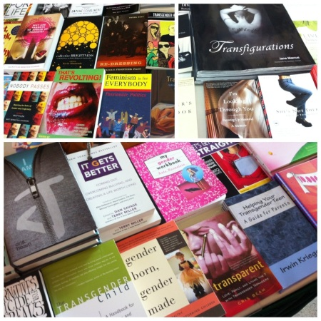 LGB & Trans Books at Gender Odyssey
