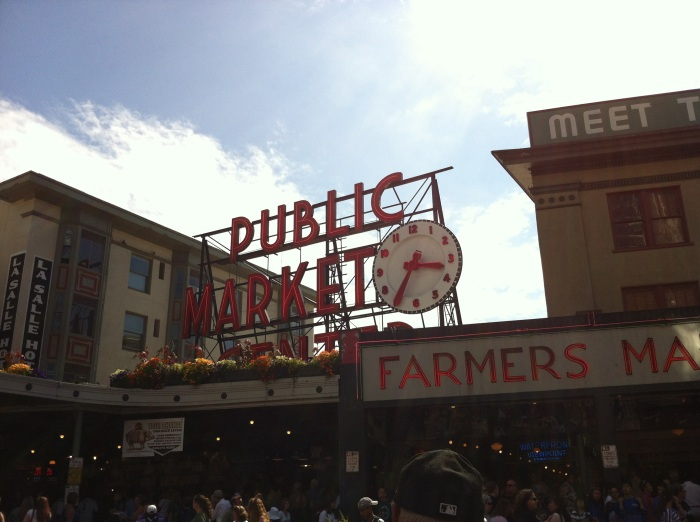 Seriously, this is the only thing I saw in Seattle.