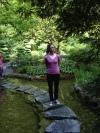 At the Butchart Gardens
