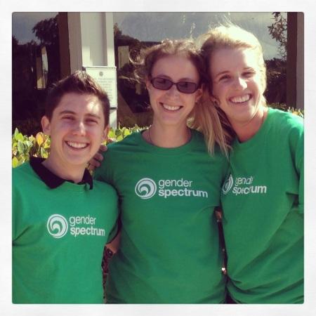 Gender Spectrum volunteers