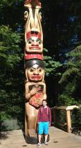 Another totem, taller than me.