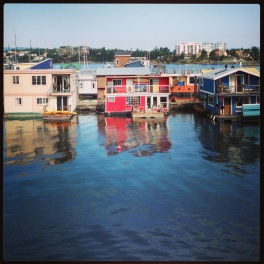Victoria, BC. Floater homes.