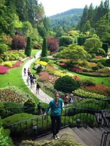 A tour of The Butchart Gardens.