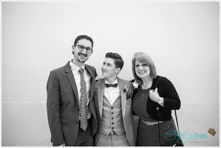 Mom, Brother, and Me
