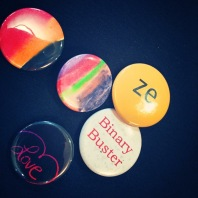 Binary Buster Buttons