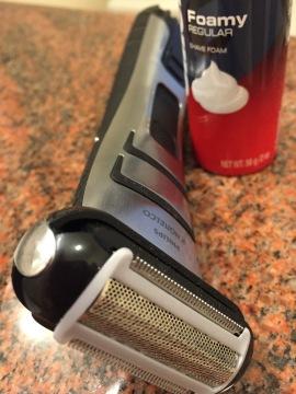 Electric razor: my new best friend