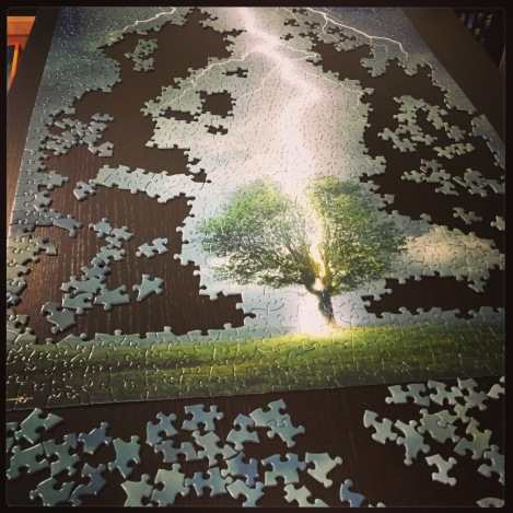 your gender is like a puzzle, and you're slowly building the pieces
