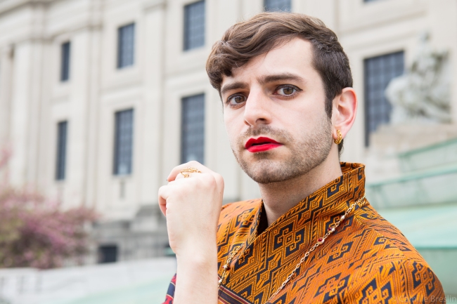 Jacob Tobia, professional genderqueer (photo credit Camille Breslin)